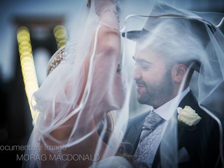 A memory in a wedding photograph...