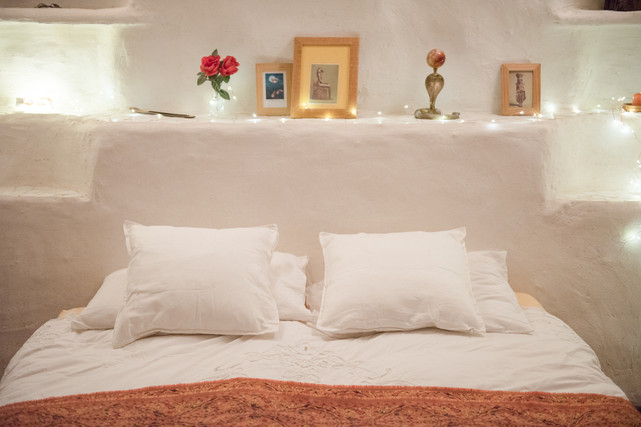 Cave bedroom Casa Isadora