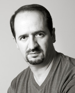 Professional actor's headshot