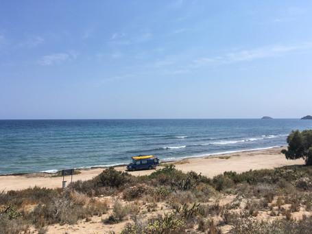 Long empty beaches near Casa Isadora