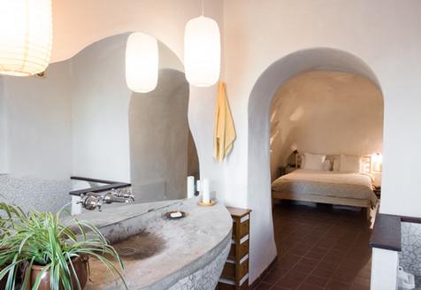 Concrete sink, Casa Isadora