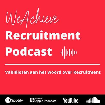WeAchieve Recruitment podcast
