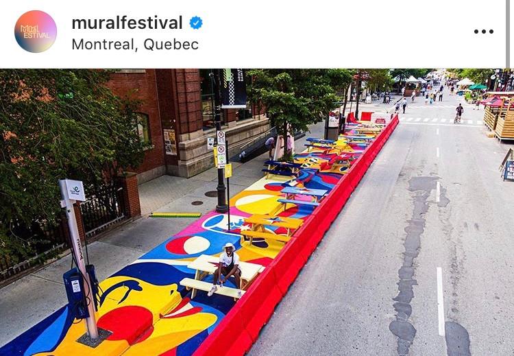 Crédits: Festival Mural #TogetherApartStreetArt