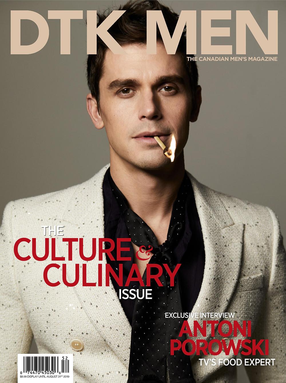 Dress to Kill Men Magazine Summer Spring 2020 by Antoni Porowski