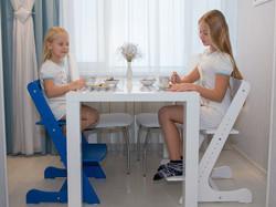 стул растет вместе с ребенком