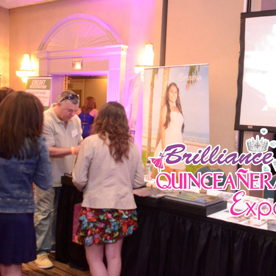 BRILLIANCE QUINCEANERA EXPO COVER GIRL PAGEANT