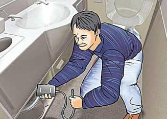 飛機廁所偷拍  反偷拍器幫到手