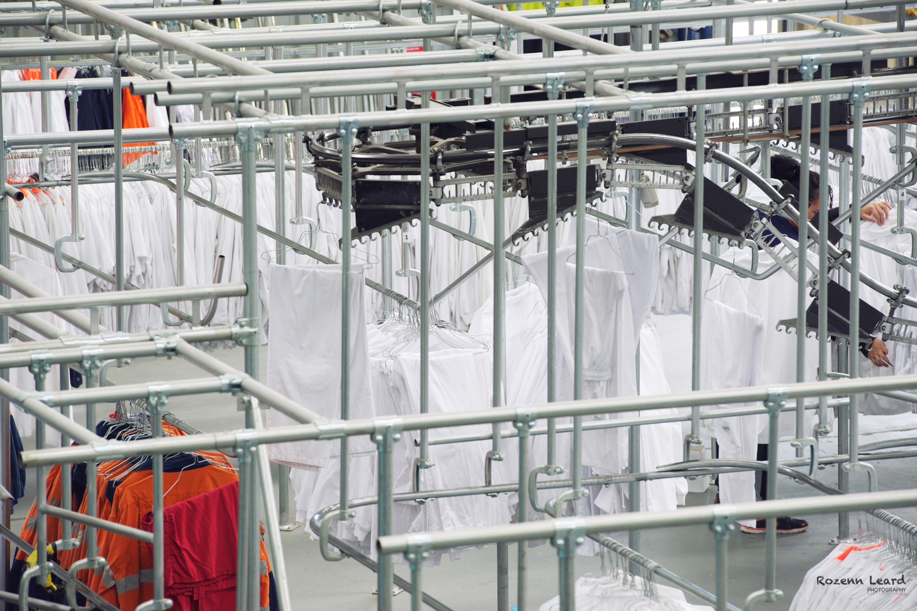 Industrial laundry and uniforms
