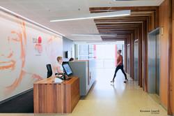 Reception area by Adentro