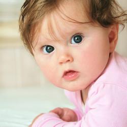 Melba at 8 months