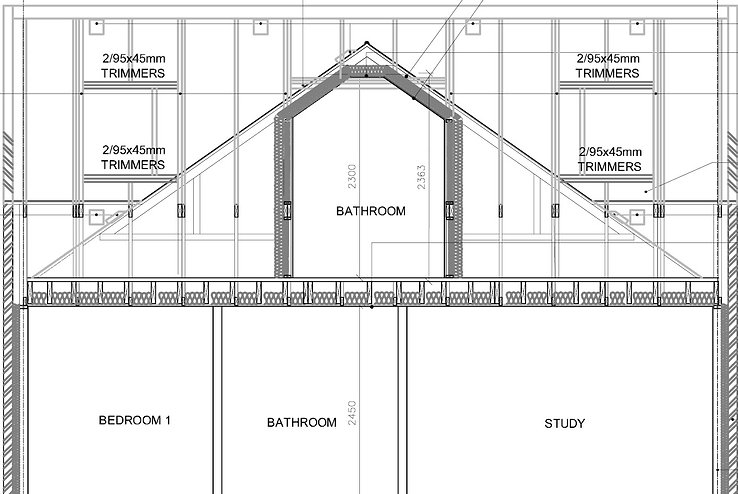 Loft Conversion , Planning applications, Lukas Architects