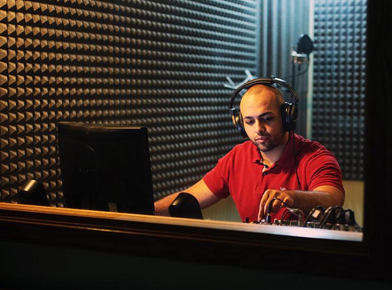 Professional Music Recording Studio in delhi
