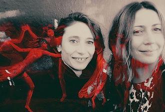 Julie Desmet Weaver & Eugénie Andrin