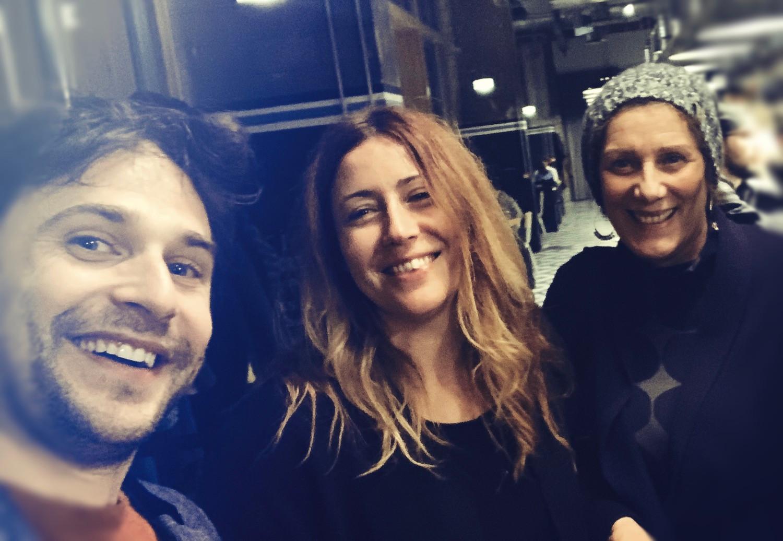 Julie Desmet Weaver, Nicole Bertolt et Axel Beaumont