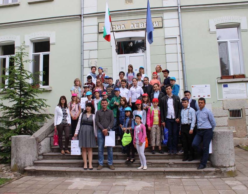 Erasmus + среща в България