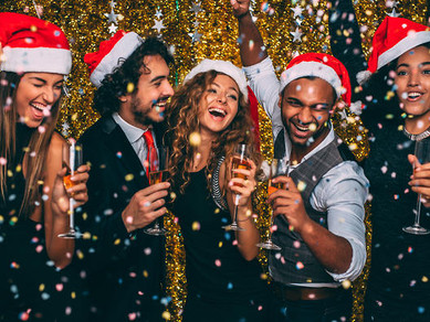 The work Christmas party that won't be forgotten . . .    .for the right reasons