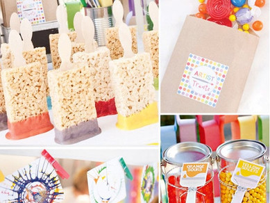 Paint and Chips - Kid's Birthday Parties