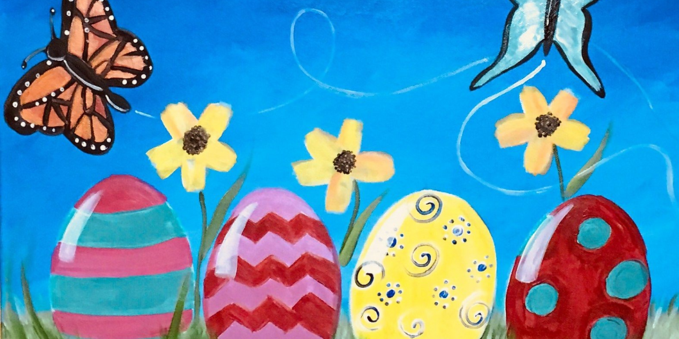 Easter Eggs - Family Friendly Class