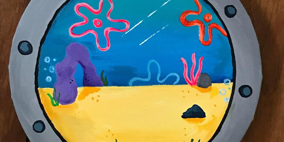 SpongeBob's Window - School Holiday Class