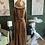 Thumbnail: Trendy Brown Leopard Long Maxi Dress