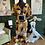 Thumbnail: Tiered Ruffle Hem Chain Print Dress