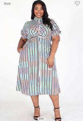 The Sassy Stripe Dress