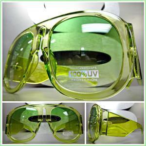 Green & Yellow Goggle  Shades