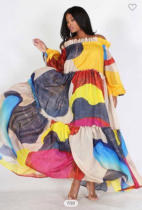 Master Piece Maxi Dress