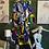 Thumbnail: Authentic African Print Bubble Print Dress