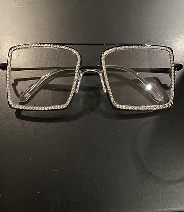 Square Bling Glasses