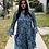 Thumbnail: Long Sleeve Sheer Ruffle Hem Dress/Duster