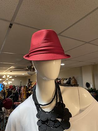Burgundy Women's Hat