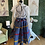 """Thumbnail: Authentic African Print 28"""" Skirt"""