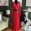 Thumbnail: Long Sleeve Pleated Maxi Dress