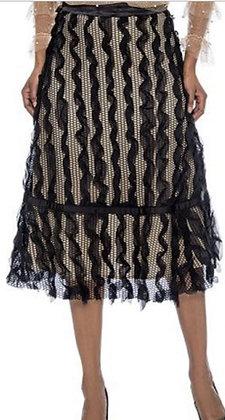 Overlay Ruffle Skirt