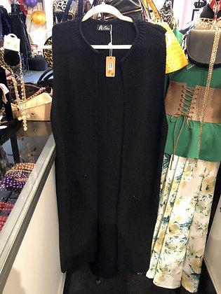 Sleeveless Knit Kimono