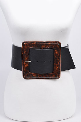 Iconic Square Buckle Belt