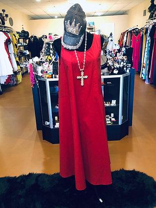 One Size 2 Pocket Oversize Reg Dress
