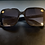 Thumbnail: Bumblebee Embellished Dark Sunglasses With Red Arms