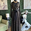 Thumbnail: Sheer Sleeve Maxi Dress With A Hint of Gold