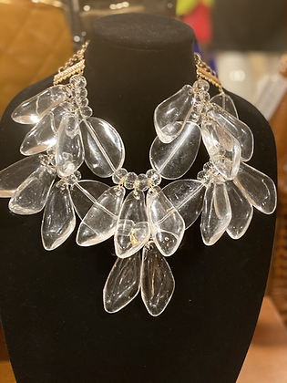 Oval Bib Bold Necklace Set