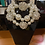 Thumbnail: Chunky Mother  Of Pearls  Necklace With Matching Earrings