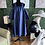 Thumbnail: Denim Midi Off The Shoulder Dress