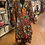 Thumbnail: Multicolor Authentic African Print Wrap Print Dress