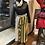 Thumbnail: Polka Dot Plaid Pleated Midi Skirt