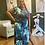 Thumbnail: Swirl Me Cute High Side Slit Dress