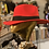 Thumbnail: Feather Fedora Wide Band Hat