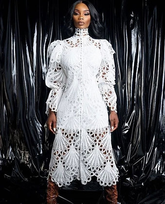 The White Lace Dress