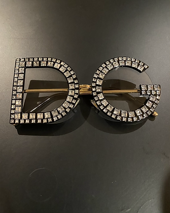 Clear DC Bling Glasses