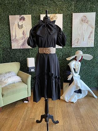 Oversized Bow Dress